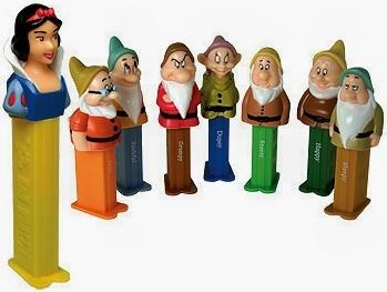 Disney Snow White 7 Dwarfs LE Pez Collectors Series New